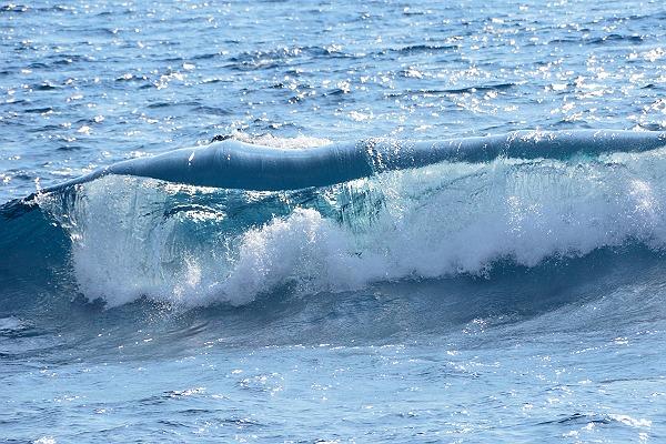 志原海岸の波
